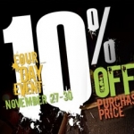 Fender + Fan Appreciation Days = 10% Off