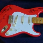 Signed Shadows Fender and Burns