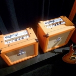 Orange Unveil New Amps