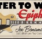 Win an Epiphone Joe Bonamassa Les Paul