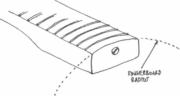 091031 - Workshop - Fingerboard Radius Sketch