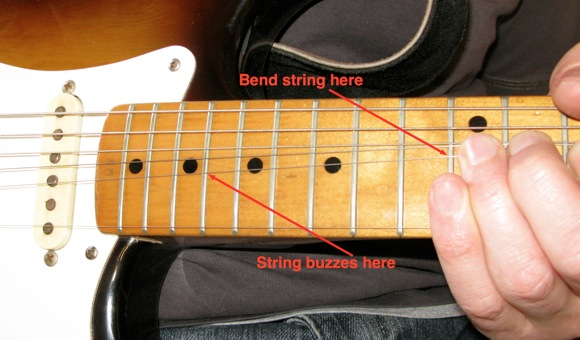 Guitar Strings Buzz When Changing Chords : resolve issues with bent notes on fender guitars fret buzz note chokes guitarless ~ Russianpoet.info Haus und Dekorationen