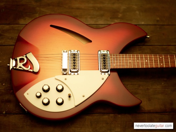 Rickenbacker 330 - NeverTooLateGuitar.com
