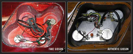 fakecontrol How To Spot A Fake Gibson