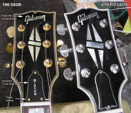 How To Spot A Fake Gibson - Protect Yourself On Auction & Trade