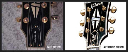 faketrussrod How To Spot A Fake Gibson
