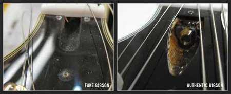 faketrussrodcav How To Spot A Fake Gibson