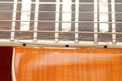 Les Paul Fake Neck Binding Small Buyer Beware   Fake/Genuine Les Paul Photo Comparison