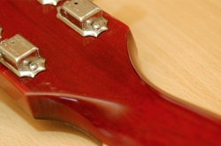 Les Paul Headstock Small Buyer Beware   Fake/Genuine Les Paul Photo Comparison