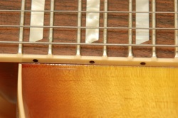 Les Paul Neck Binding Small Buyer Beware   Fake/Genuine Les Paul Photo Comparison