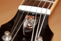 Les Paul Truss Rod Small Buyer Beware   Fake/Genuine Les Paul Photo Comparison