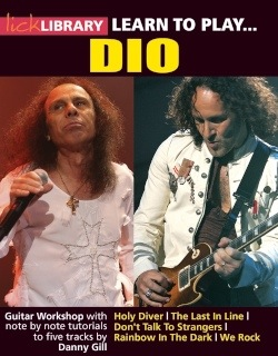 DIO DVD cover thumb Learn To Play Dio