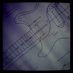 Les Paul Blueprint