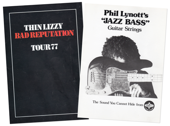 Thin Lizzy Bad Reputation Rotosounds